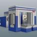 Centros de maquinado con cubiertas
